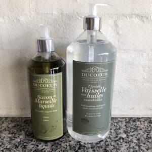 Parabenefri rosmarin opvaskesæbe og oliven håndsæbe