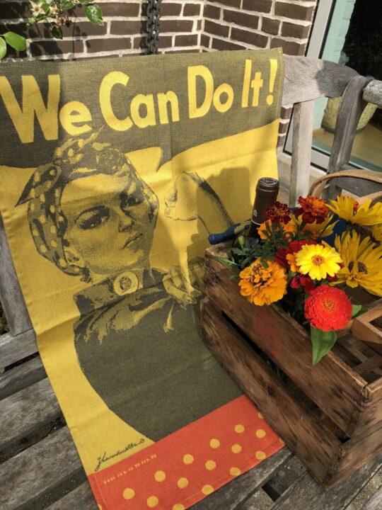 Viskestykke Tissage Moutet Rosie the Riveter