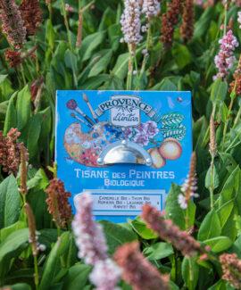 Tisane des peintres urtete økologisk vegansk kunstner urtete